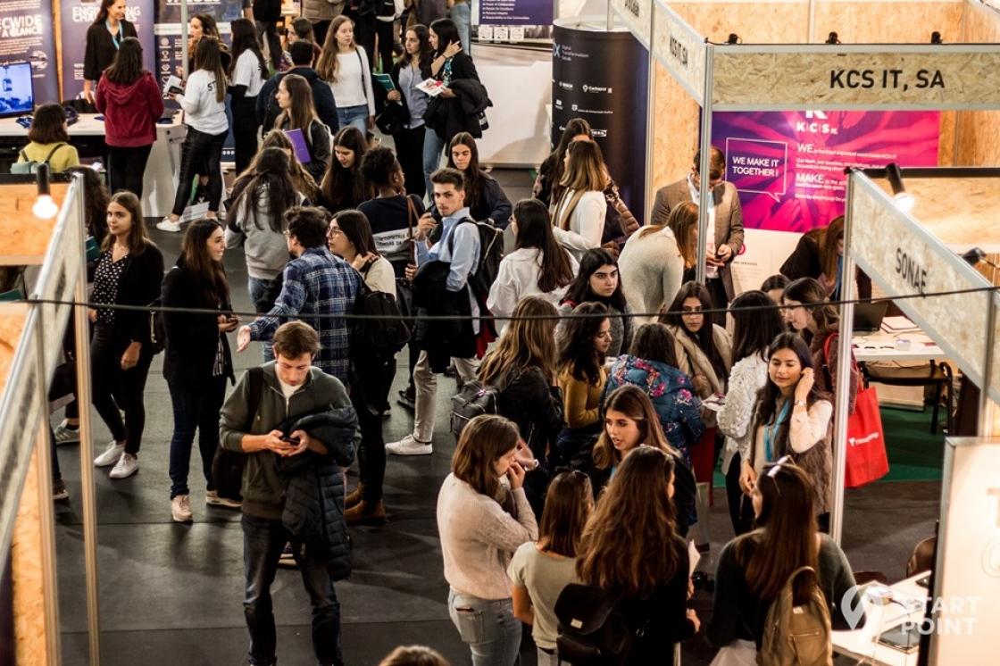 Mais de 1000 participantes na Mostra Empresarial da Start Point
