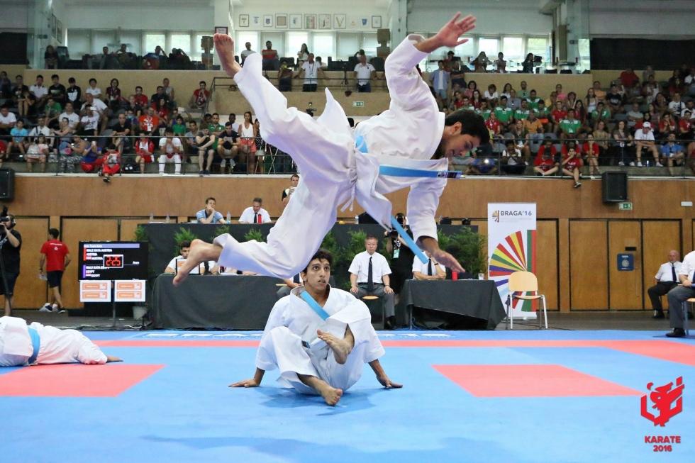 Mundial Universitário de Karaté nomeado para melhor evento desportivo de Braga