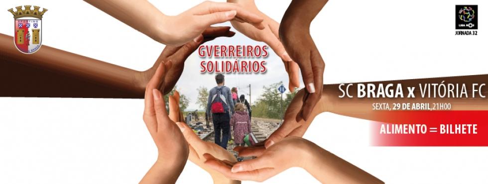 Gverreiros Solidários: campanha pelos refugiados. Tu também podes ajudar!