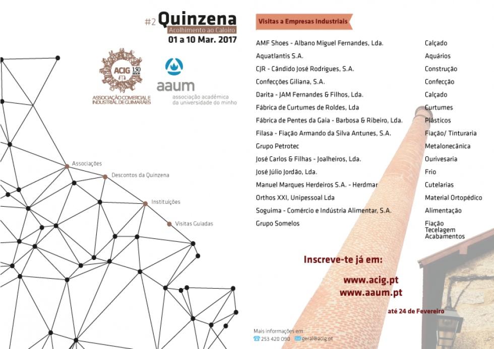 AAUM e ACIG promovem visitas a empresas vimaranenses