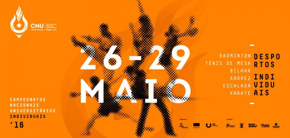 Braga acolhe Campeonatos Nacionais Universitários individuais | 26 a 29 de maio