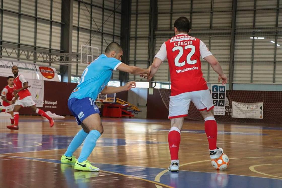 SC Braga/AAUM sofre nova derrota