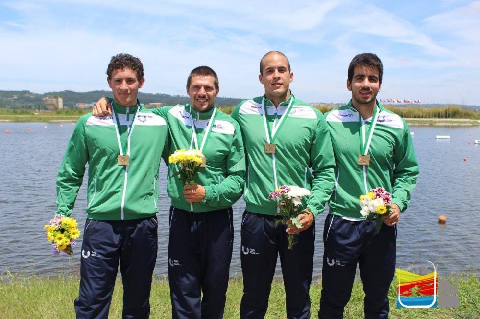 Canoagem: Hélder Figueiras e João Rocha conquistam três bronzes no Mundial Universitário