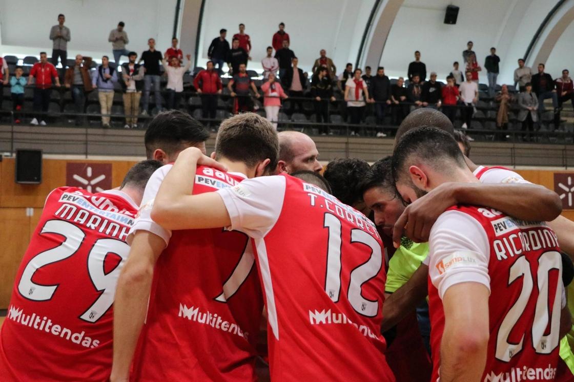 SC Braga/AAUM afastado da Taça de Portugal